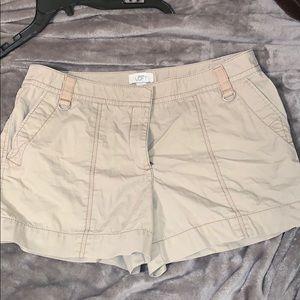 Loft cargo shorts 12